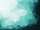 simple vector illustration of abstract polygonal background; eps10; zip includes aics2, high res jpg