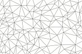 simple vector outline of polygonal background; eps8; zip includes aics2, high res jpg