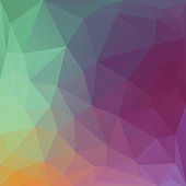 simple vector illustration of abstract polygonal background;eps8;  linear gradient used; no transparency effects ;  zip includes aics2, high res jpg