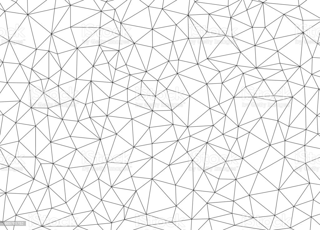 Fond abstrait polygonal - Illustration vectorielle