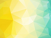 modern style abstract polygonal background, vector summer mosaic