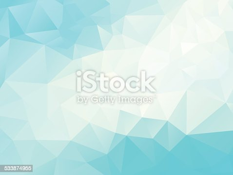 vector illustration of abstract polygonal background; eps10;  zip includes aics2, high res jpg