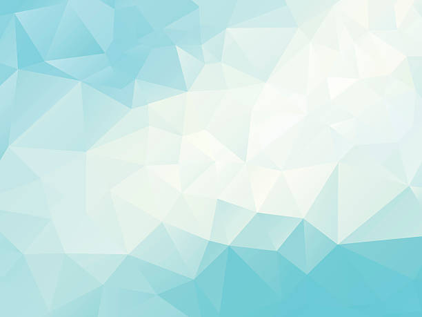 abstract  polygonal blue  background vector illustration of abstract polygonal background; eps10;  zip includes aics2, high res jpg blue background illustrations stock illustrations