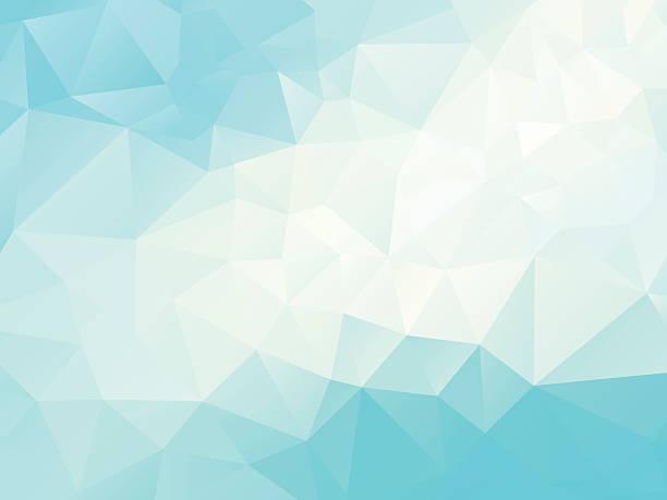 stockillustraties, clipart, cartoons en iconen met abstract  polygonal blue  background - triangel