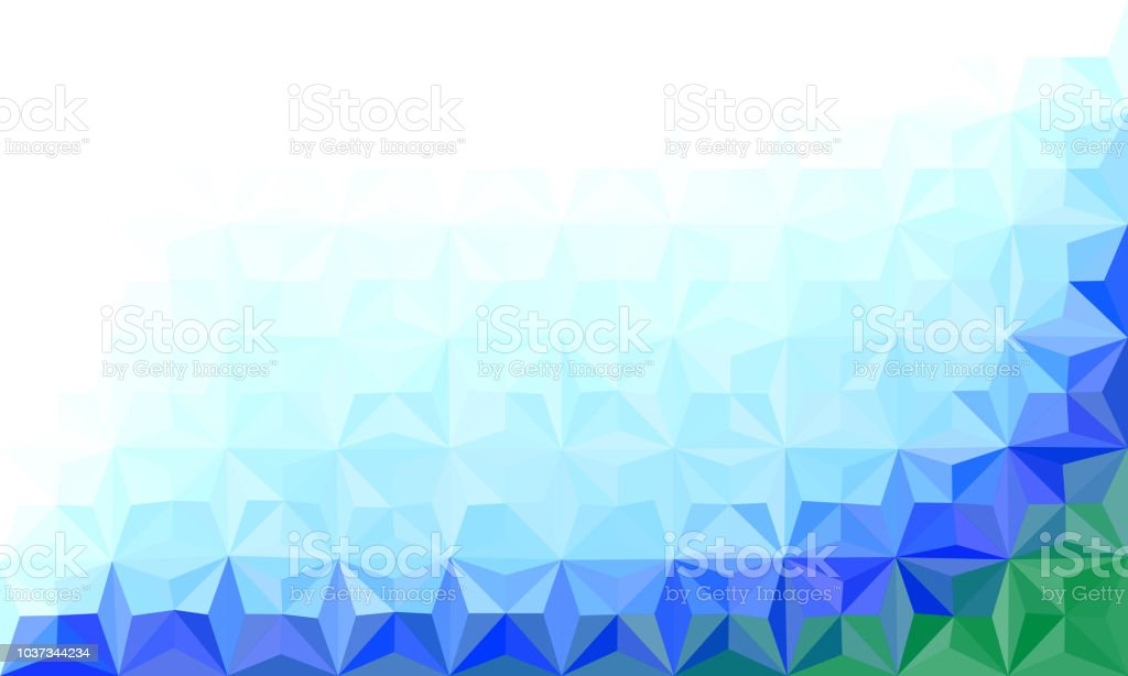 abstract polygonal color template concept design for your business