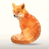 abstract polygonal Fox