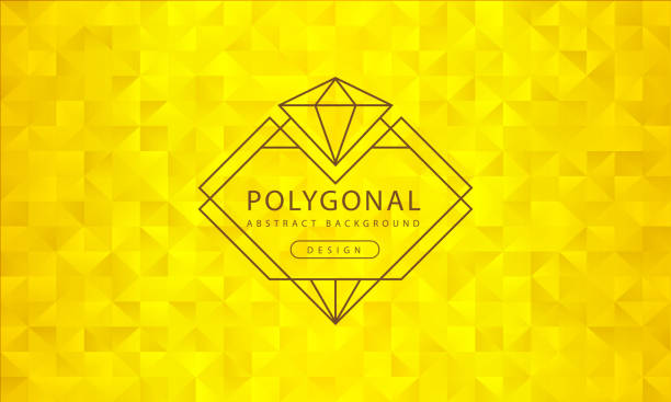Abstract polygonal golden background texture, golden textured, banner polygon backgrounds, vector illustration for graphic design Abstract polygonal golden background texture, golden textured, banner polygon backgrounds, vector illustration for graphic design diamond shaped stock illustrations