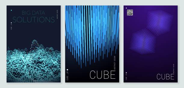 Abstrakte Poster Hintergrund mit Copy Space – Vektorgrafik