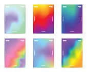 istock Abstract poster collection 669604046