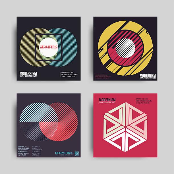 abstract posters art graphic backgrounds - bauhaus stock-grafiken, -clipart, -cartoons und -symbole