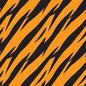 Abstract print animal seamless pattern