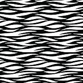 Abstract print animal seamless pattern. Zebra, tiger stripes