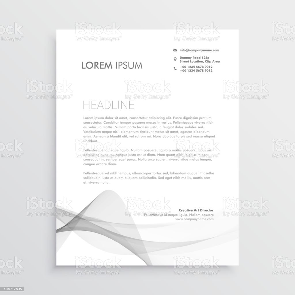 Fein Briefpapier Design Vorlagen Bilder - Beispiel Wiederaufnahme ...