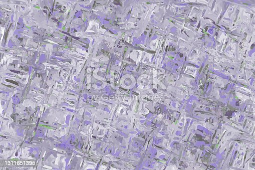 istock Abstract purple and grey watercolor vector background 1311651395