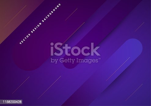 Abstract Purple Landing Page Vector Background