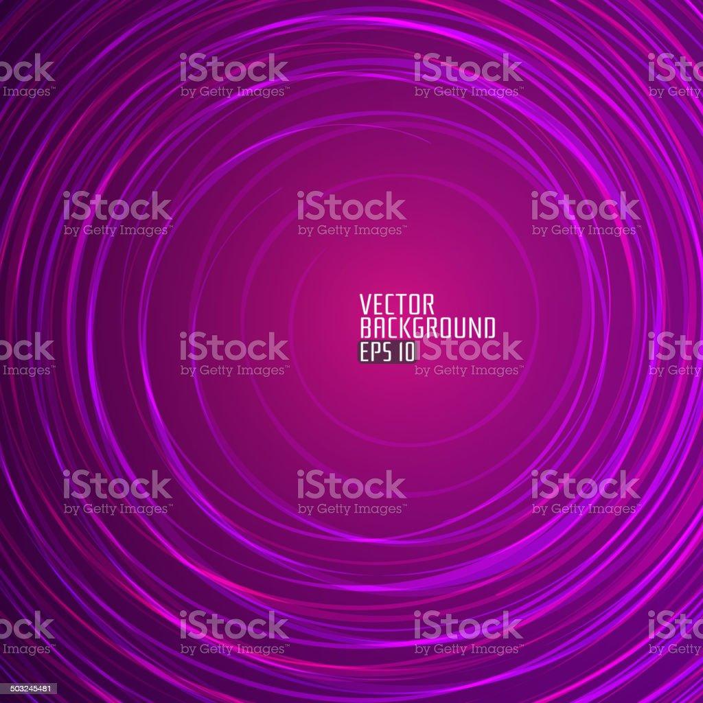 Abstrakt Lila Runde Hintergrund.  Vektor-Illustration. – Vektorgrafik