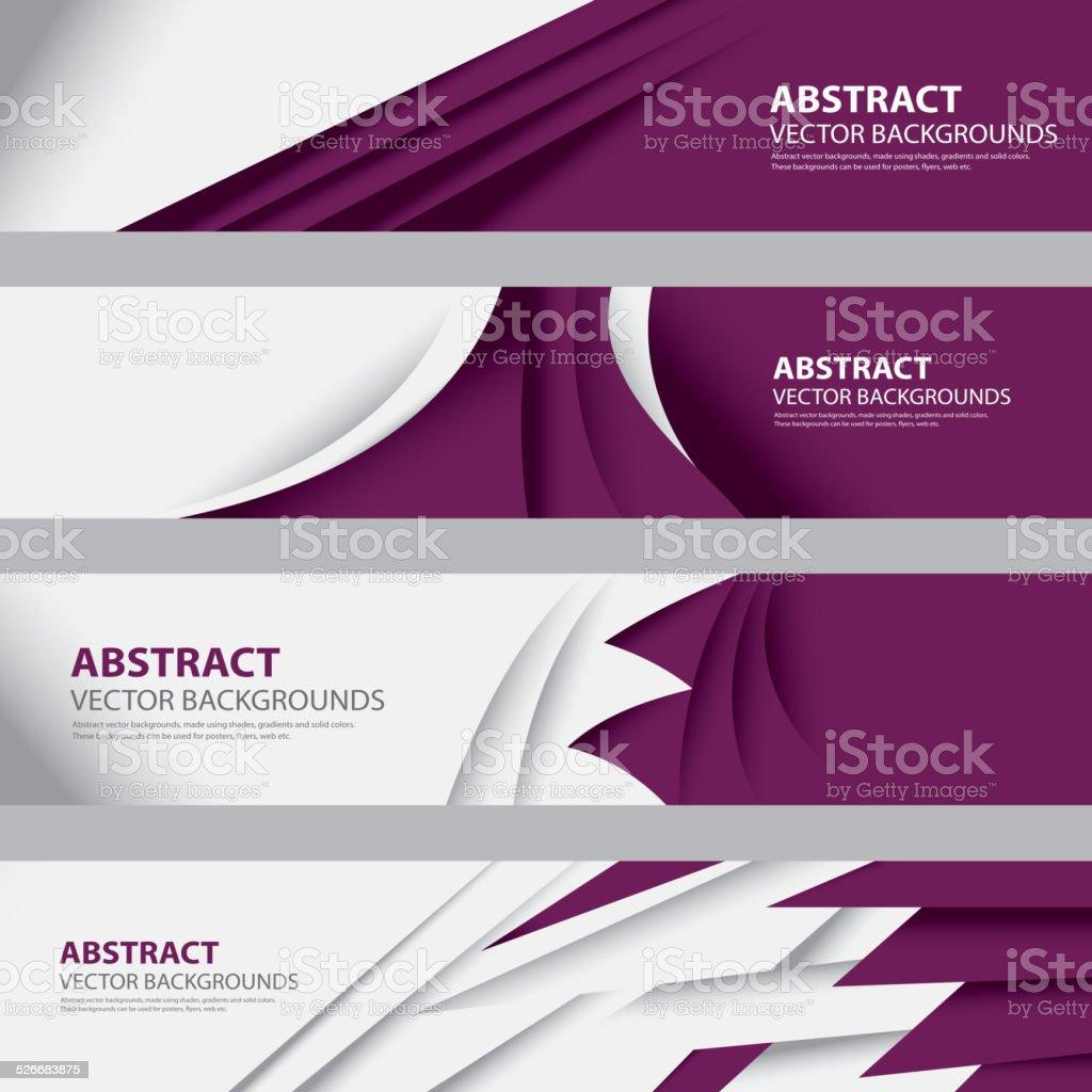 Abstract Qatar Background, Qatari Flag (Vector Art) vector art illustration