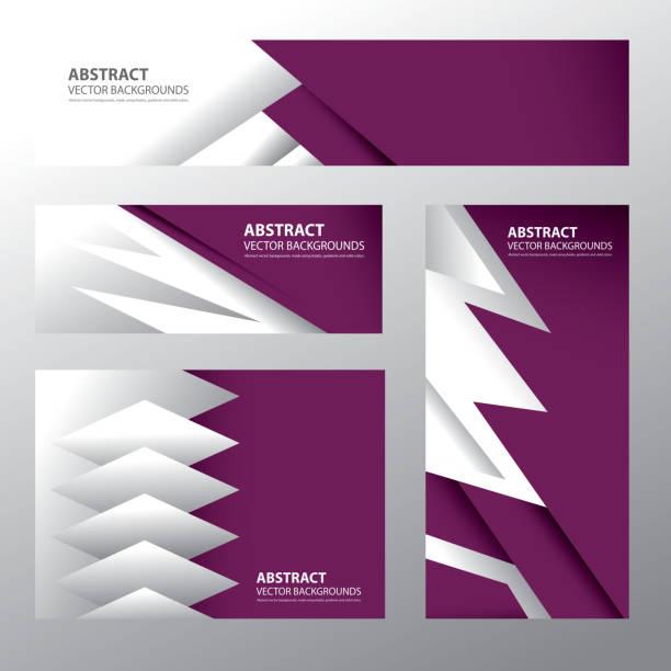 illustrations, cliparts, dessins animés et icônes de abstrait qatar drapeau qatari couleurs (vectoriels - doha