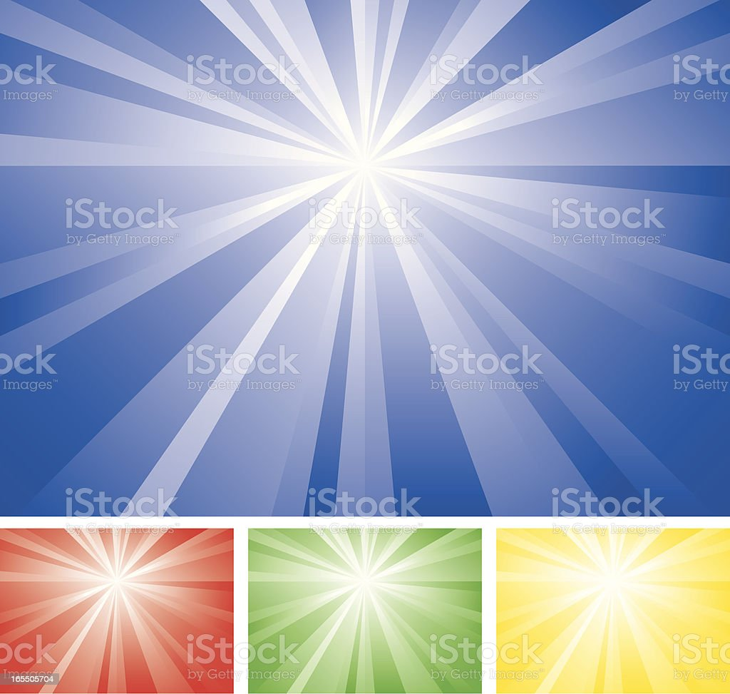 Abstract Radial Background royalty-free stock vector art