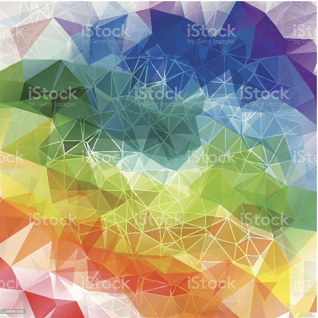 Abstract rainbow background royalty-free abstract rainbow background stock vector art & more images of abstract