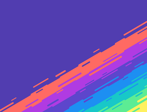 Abstract Rainbow Blend Background