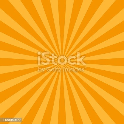 abstract rays background retro vintage style. Vector