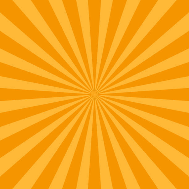 abstract rays background retro vintage style. vector art illustration