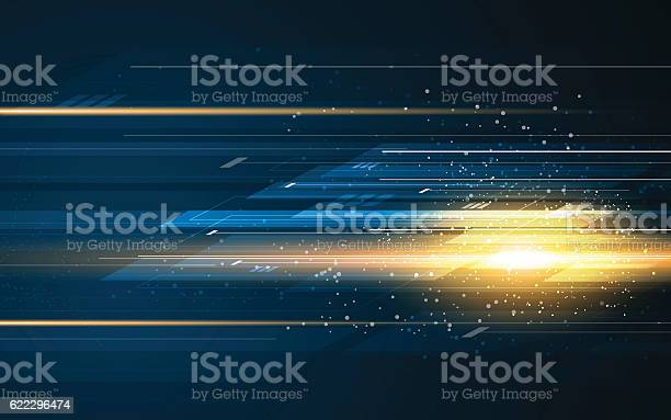 abstract rectangle pattern tech speed movement pattern design background concept eps 10 vector