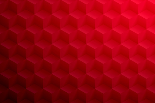Abstract red background - Geometric texture