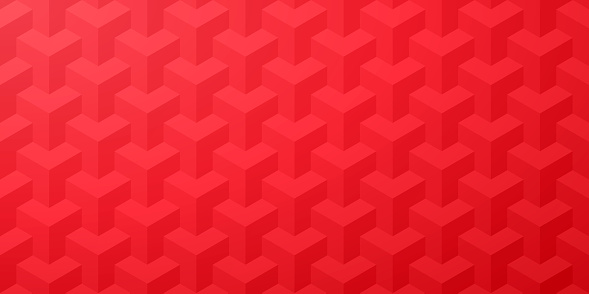 Modern and trendy abstract background. Geometric texture with seamless patterns for your design (color used: red). Vector Illustration (EPS10, well layered and grouped), wide format (2:1). Easy to edit, manipulate, resize or colorize.