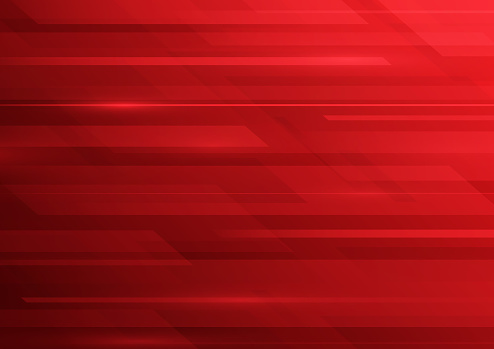 Abstract red blurred lines background