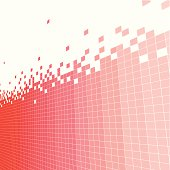 abstract red check pattern background