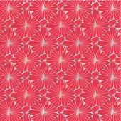 abstract red floral pattern background for design