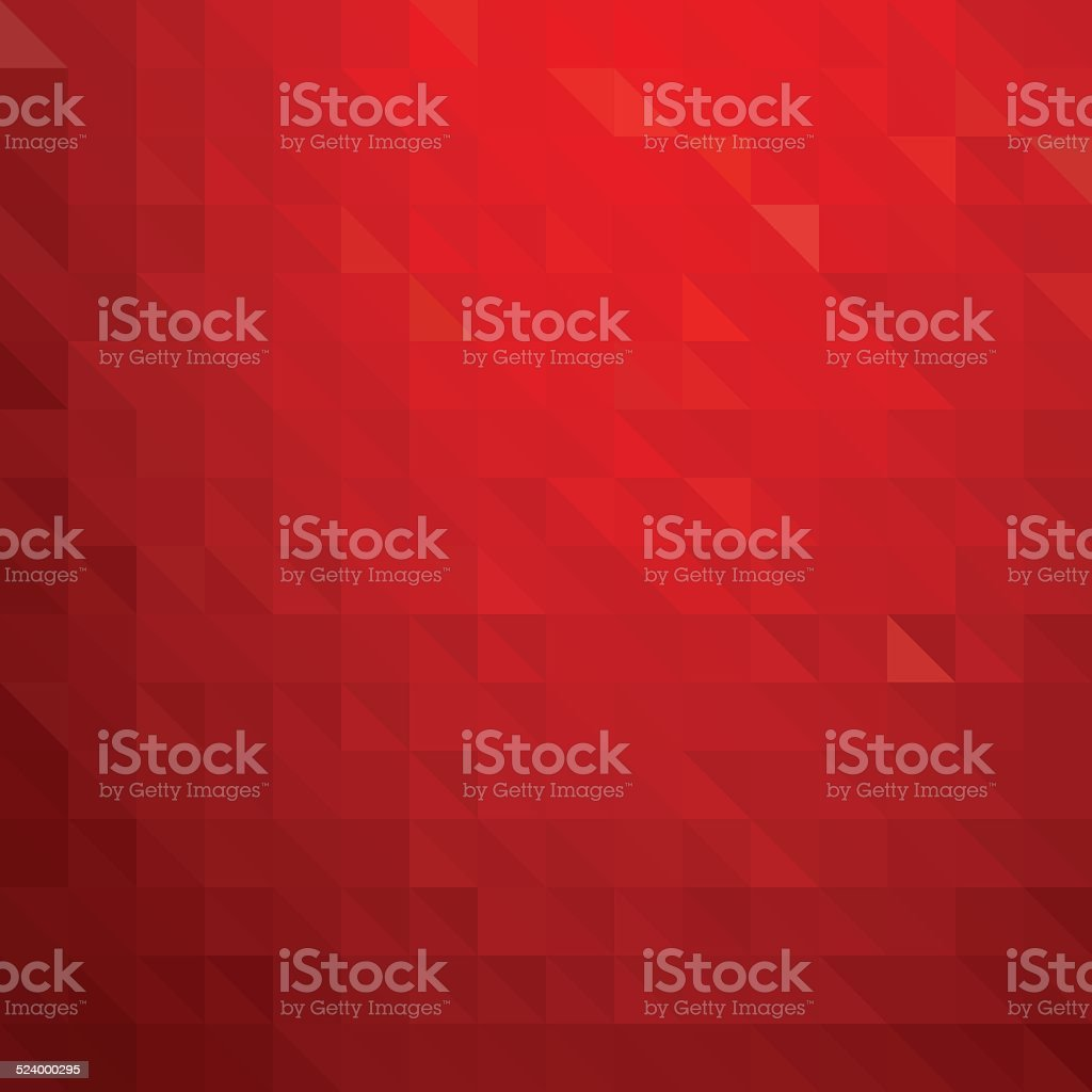 Abstract red geometric  background vector art illustration