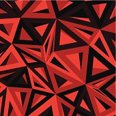 istock abstract red geometry pattern background 483805567