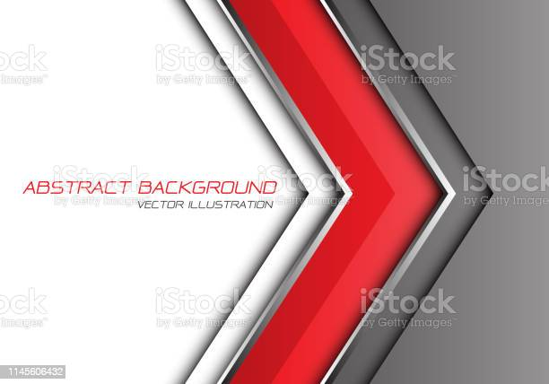 Abstract red grey silver line arrow direction with white blank space vector id1145606432?b=1&k=6&m=1145606432&s=612x612&h=71yh c5u3rvxbiqgjmgf2bmz3gqw5ut  heb6pdwhau=