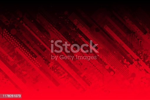 istock Abstract red grunge background 1178251073