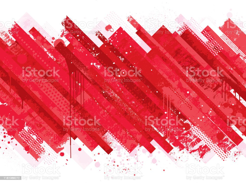 Abstract red grunge background Modern red abstract grunge vector background Abstract stock vector