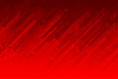 Modern red abstract grunge vector background