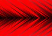 Abstract red light arrow direction design modern futuristic background vector illustration.