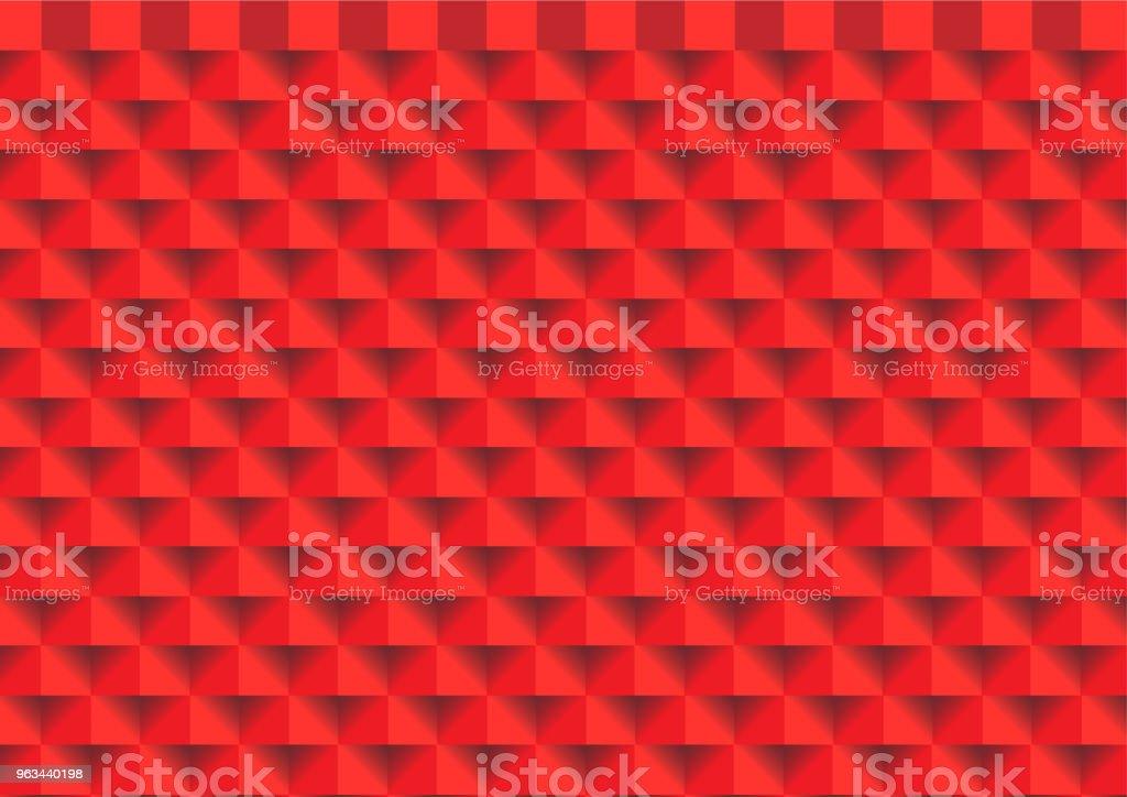 Fond de texture abstrait rouge rectangle. Vector EPS10 - clipart vectoriel de Abstrait libre de droits