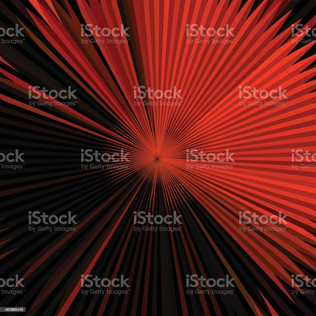 abstract red technology shape background vector art illustration
