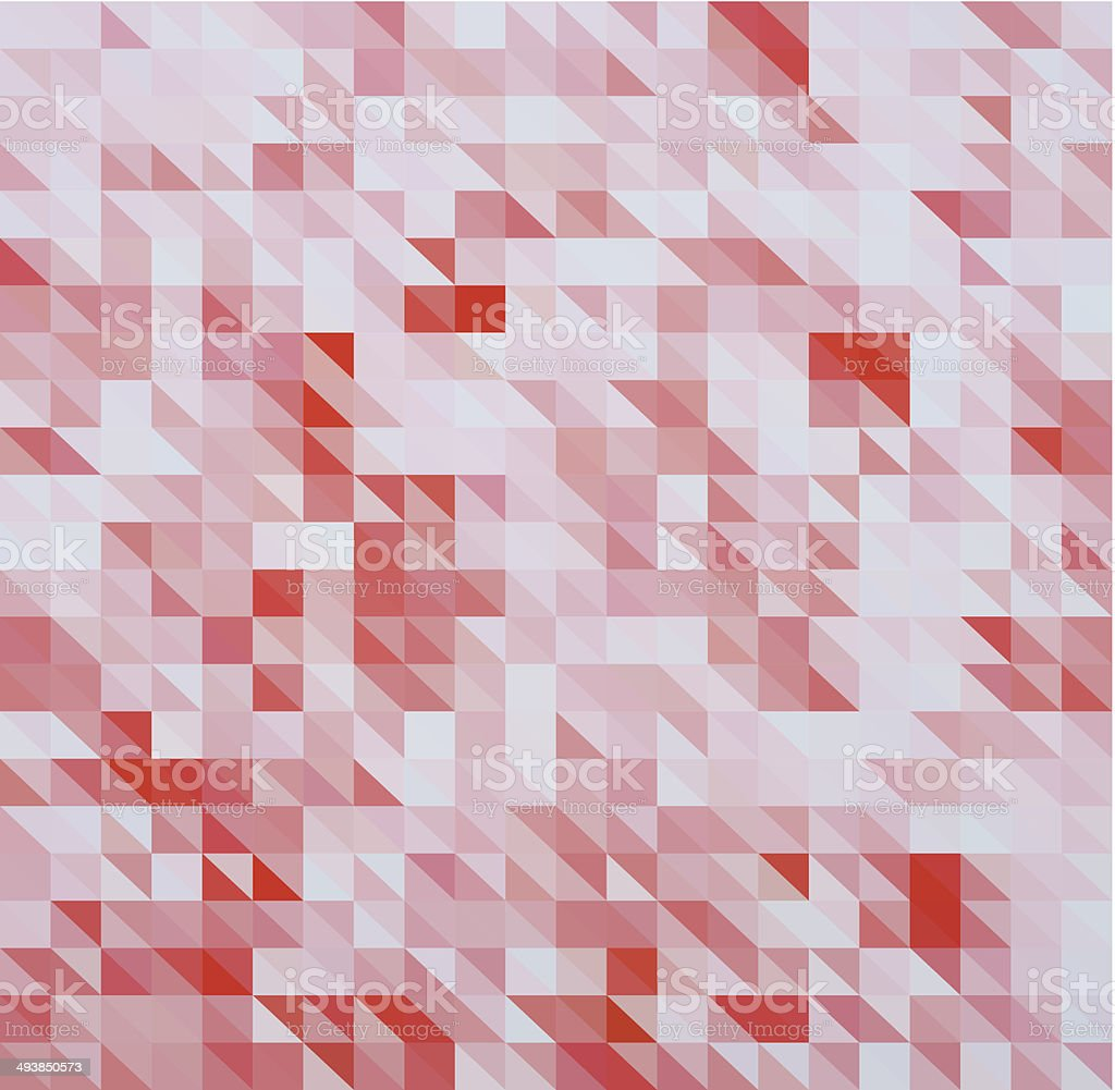 abstract red triangle pattern background royalty-free stock vector art