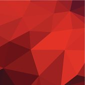 abstract red triangle pattern background for design.(ai eps10 with transparency effect)