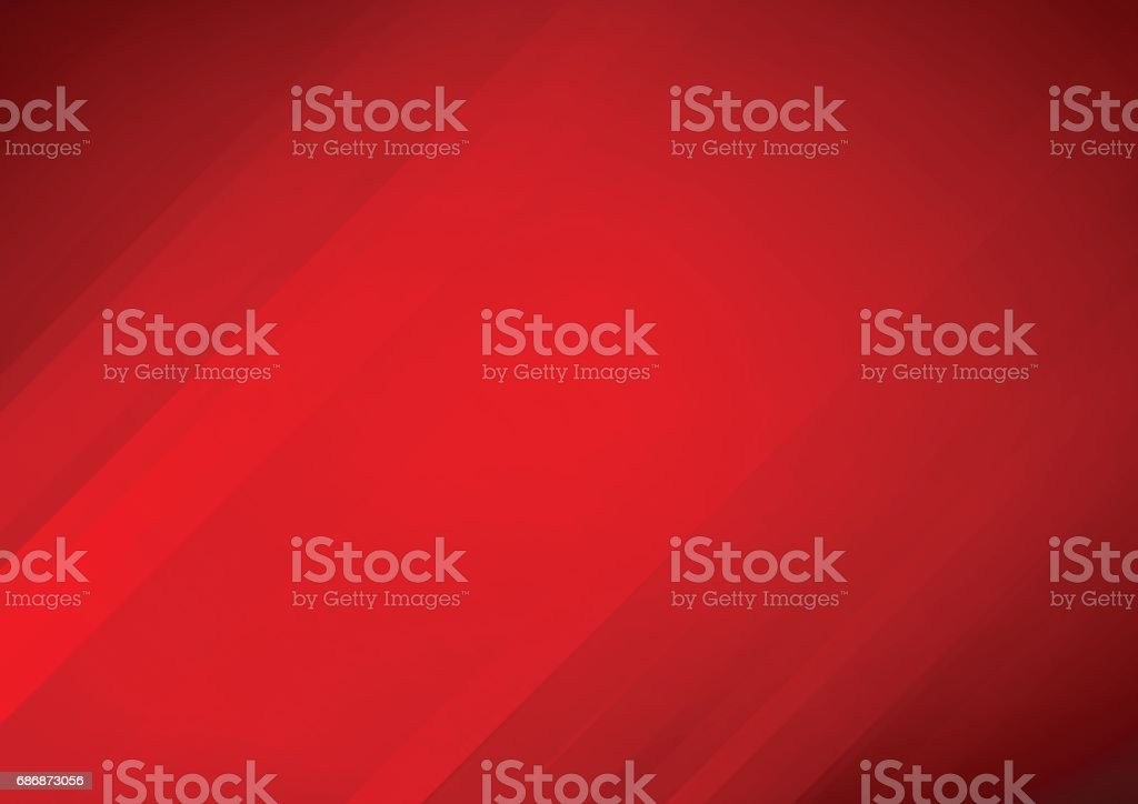 Abstract red vector background with stripes vector art illustration
