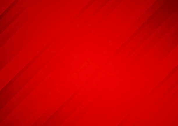 abstract red vector background with stripes - kolor tła stock illustrations