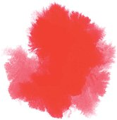 vector of red watercolor stain; Eps10; zip includes aics2, high res jpg
