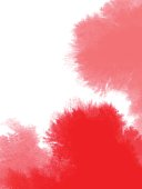 vector of abstract red watercolor background; Eps10; zip includes aics2, high res jpg