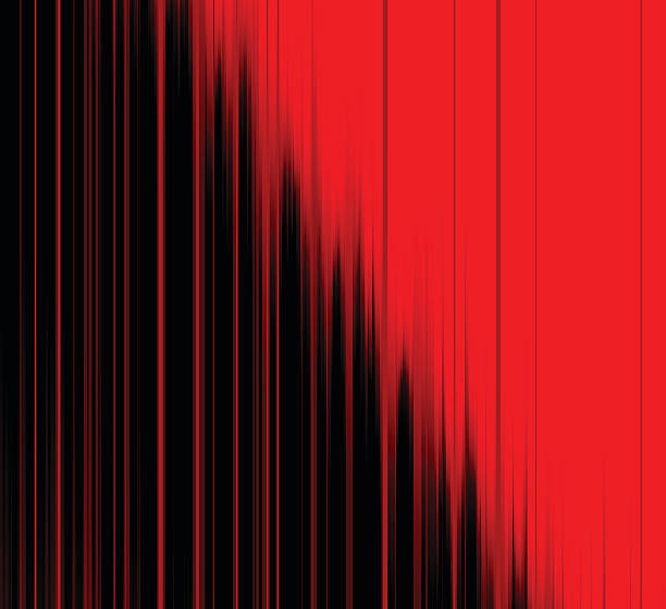 abstrakt rot mit schwarzen streifen muster hintergrund - palettenbilderrahmen stock-grafiken, -clipart, -cartoons und -symbole