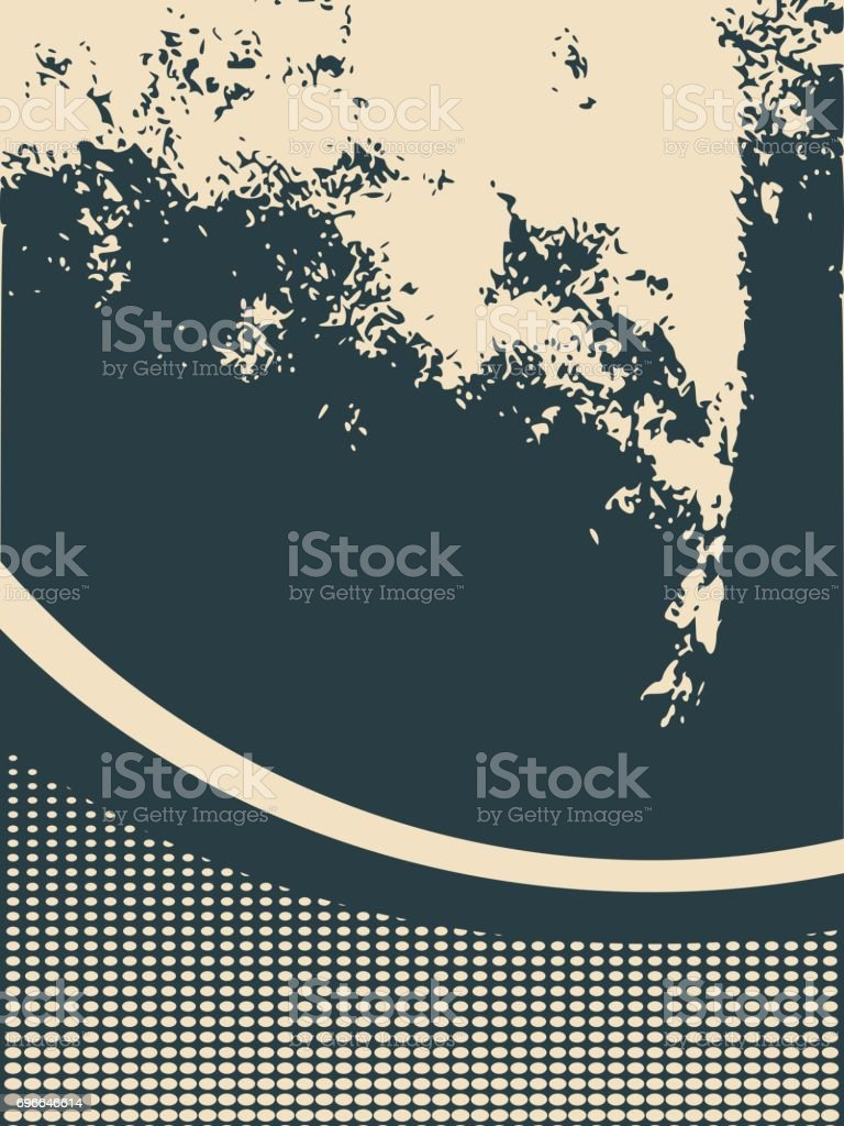 Abstract relief surface background vector art illustration